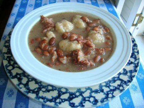 Pinto Beans & Dumplings