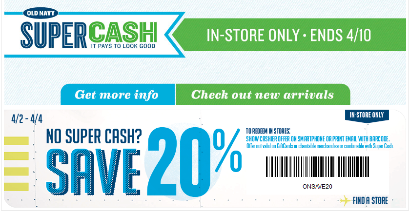 old navy coupons october 2019 in store