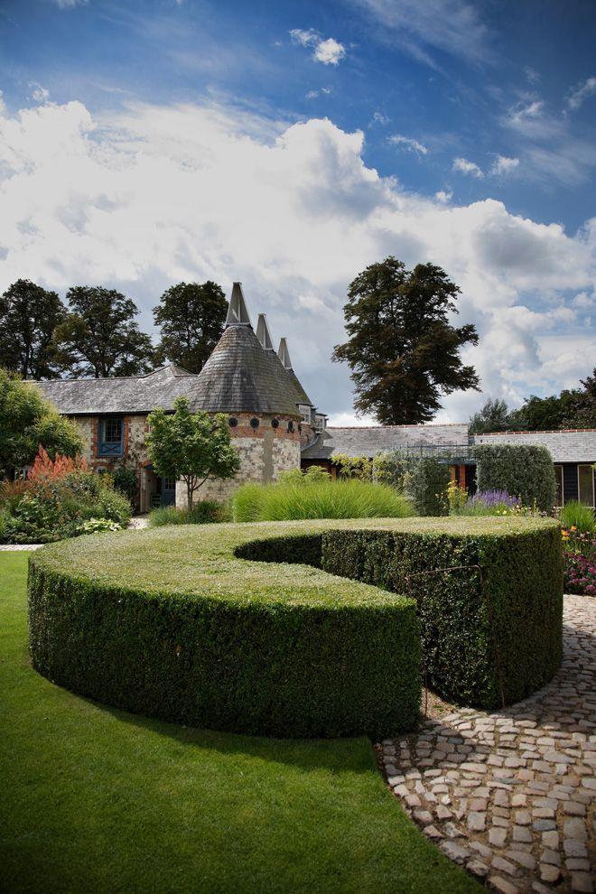 The Barn at Bury Court. Beautiful gardens at this stunning ...