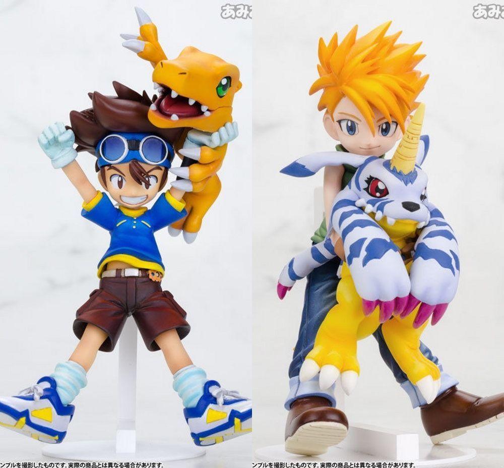 "New Digimon Adventure Greymon and Taichi 12/"" PVC Collectible Anime Figure Toy"
