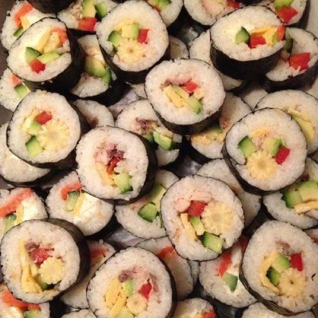 Home- made sushi ❤