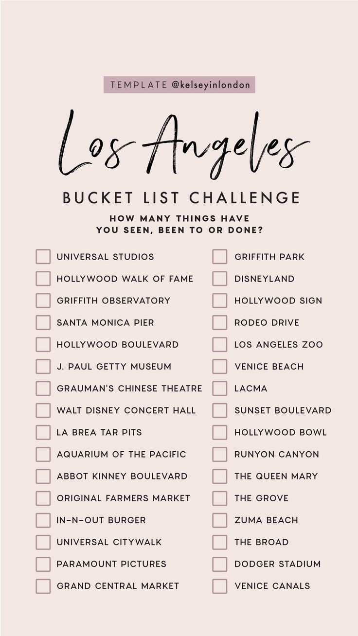 Top Things To Do In Los Angeles - Los Angeles Bucketlist - Instagram Story ... -  Top Things To Do In Los Angeles – Los Angeles Bucketlist – Instagram Story Templ …,  #angeles - #angeles #bucketlist #BudgetTravel #CultureTravel #instagram #Los #RoadTrips #story #things #Top #TravelTips #summerbucketlists