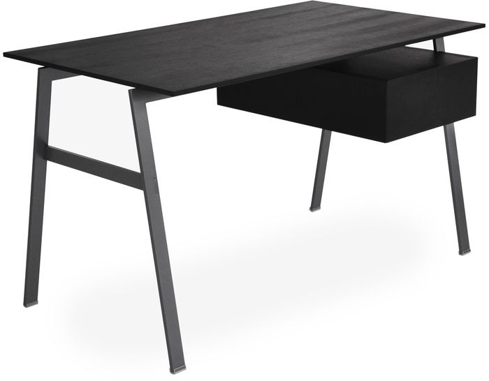 homework desk 1 love the gunmetal grey legs but would do with glass top