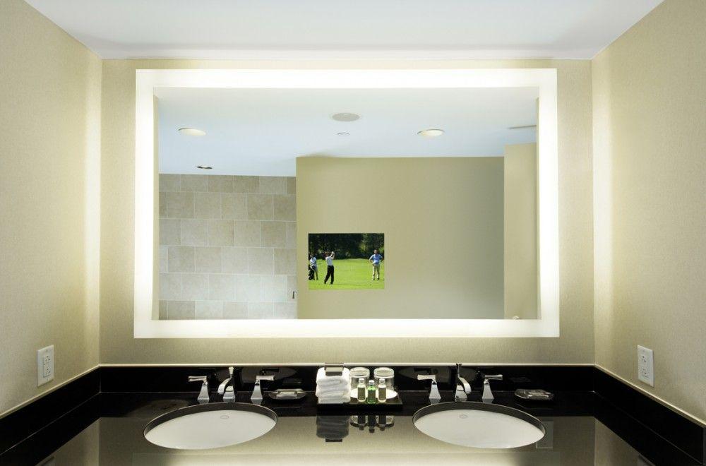 Lighted Bathroom Vanity Mirrors large lighted mirror vanity | bathroom ideas | pinterest | light
