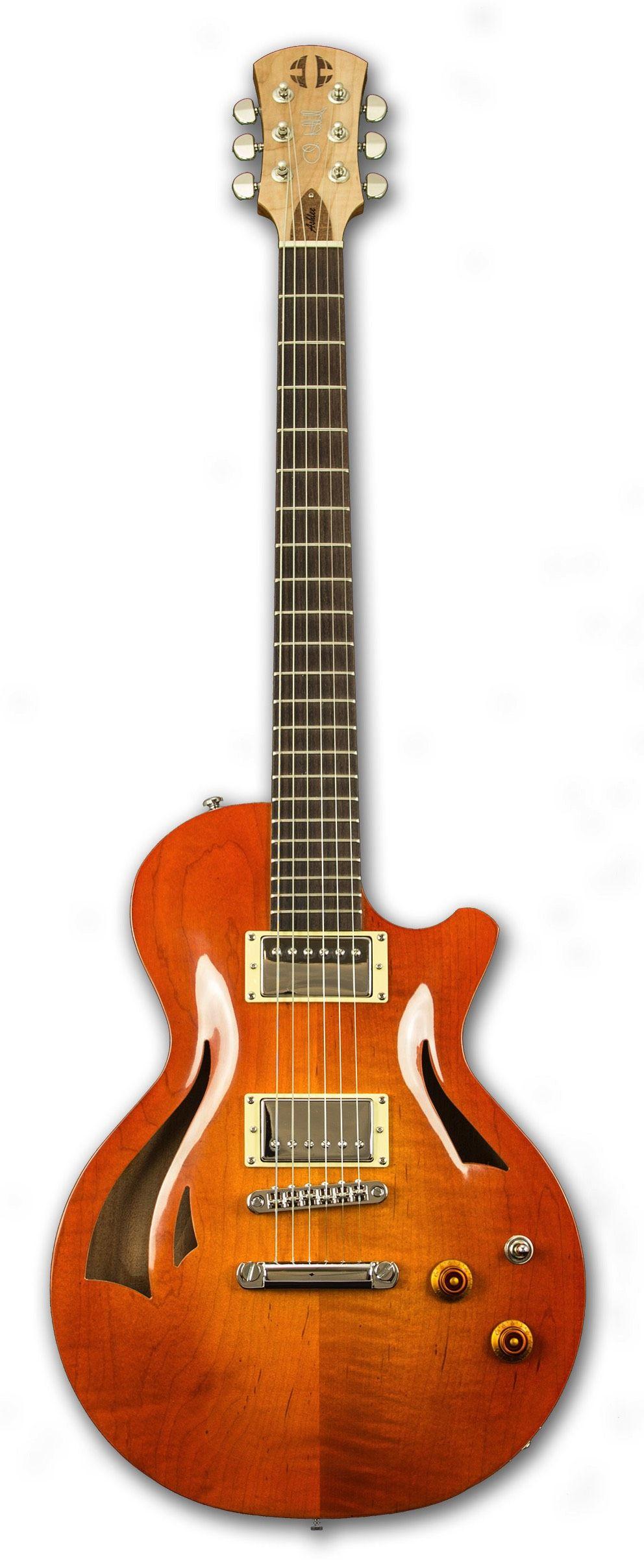 Ashlee Semi Hollow in Honey Guitar, Bass ukulele