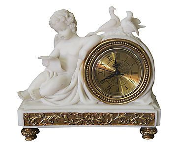 Estatueta com Relógio Hope