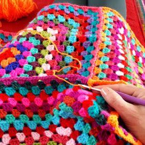Granny Square Crochet Haken Haken Leren Haakpatroon Pattern