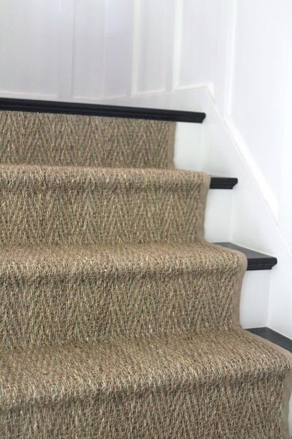 Perfect Seagrass Stair Runner