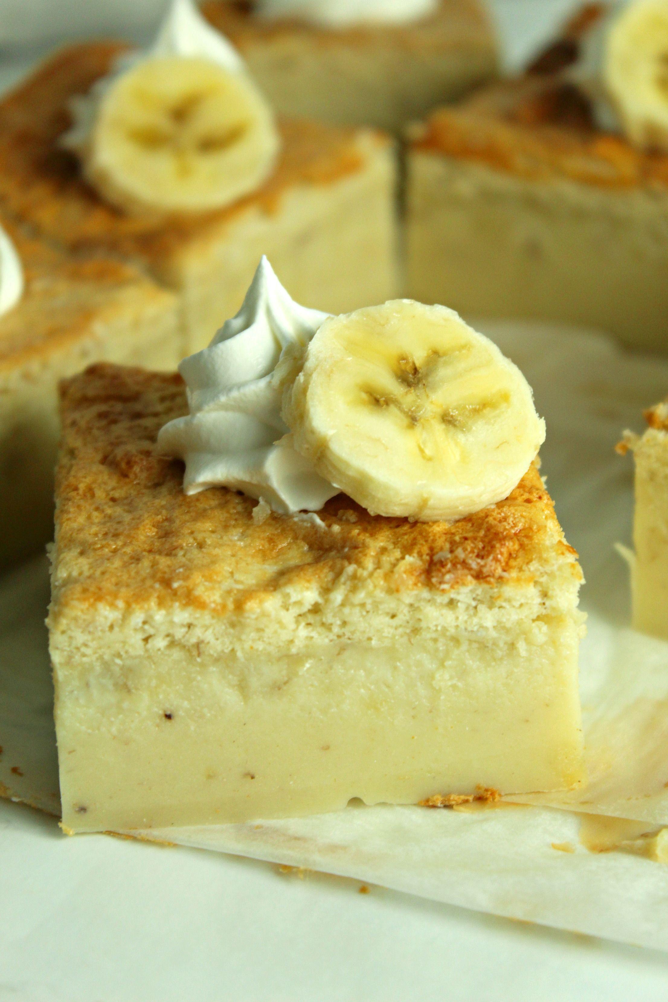 Banana Magic Cake