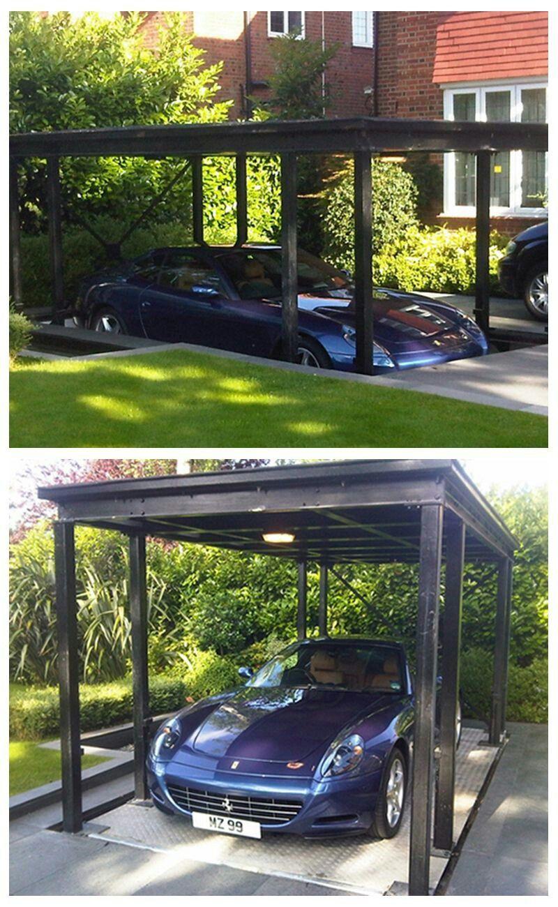 Pin By Hamad Binjarsh On Garaje Secreto Parking Design