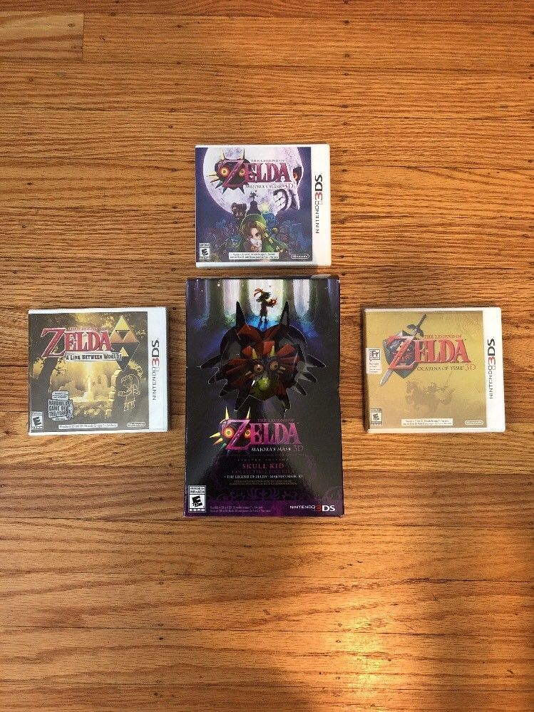 Legend Of Zelda Majora S Mask 3d Limited Edition Bundle Nintendo