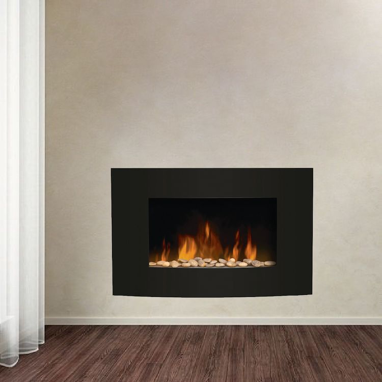Delightful Fireplace Wall Decals   Living Room Wall Decal Murals   Romantic Wall Decals  |Primedecals