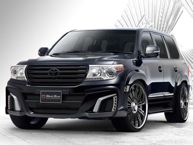 Toyota Land Cruiser Black Bison By Wald Int L Toyota Land Cruiser Diesel Toyota Land Cruiser Prado Land Cruiser
