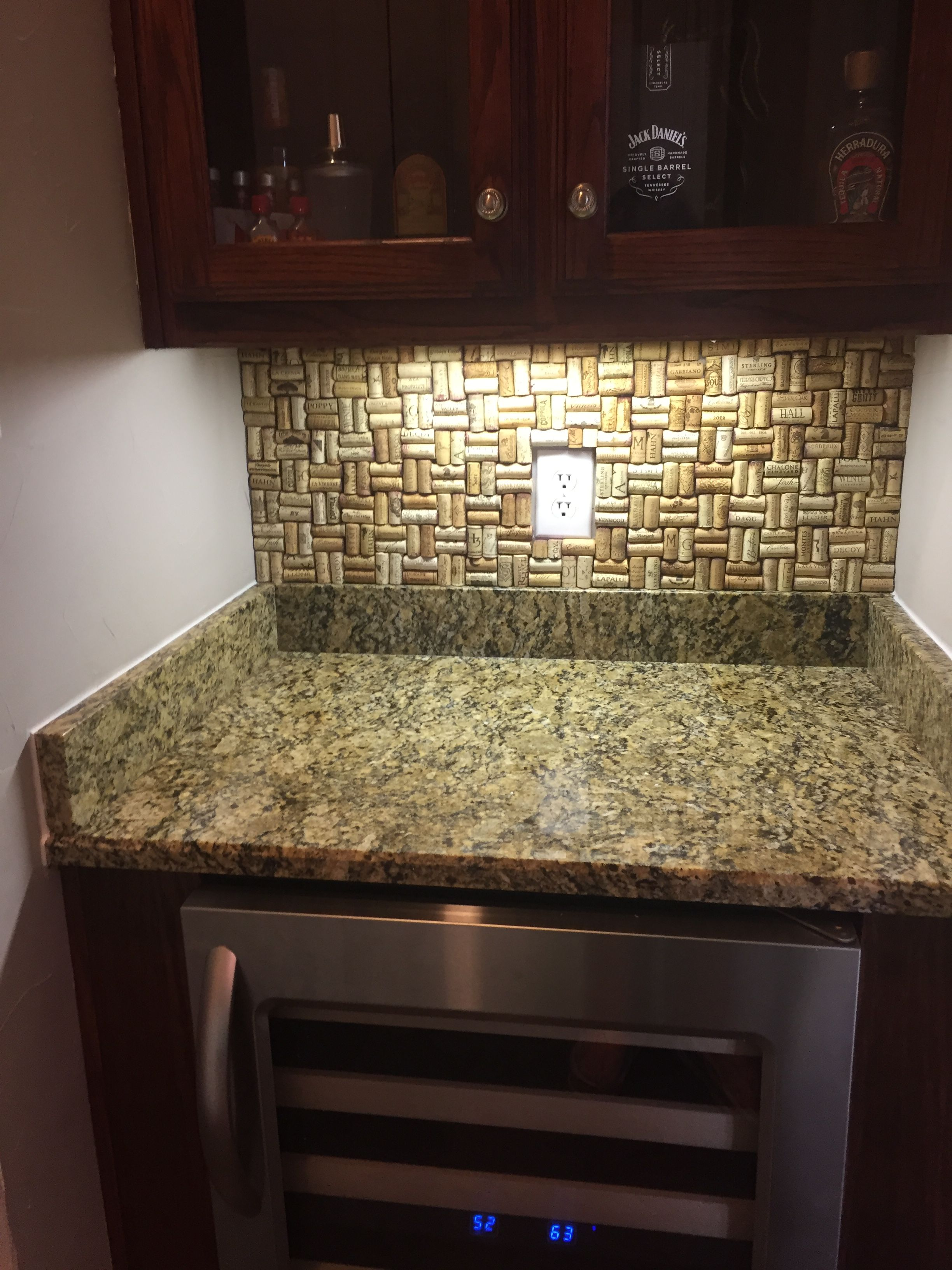 Pin by Kris Reedy on Wine Cork Backsplash (With images