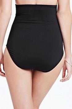 183629007f0a5 Women's Beach Living Ultra High Waist Bikini Bottom with Tummy Control from  Lands' End