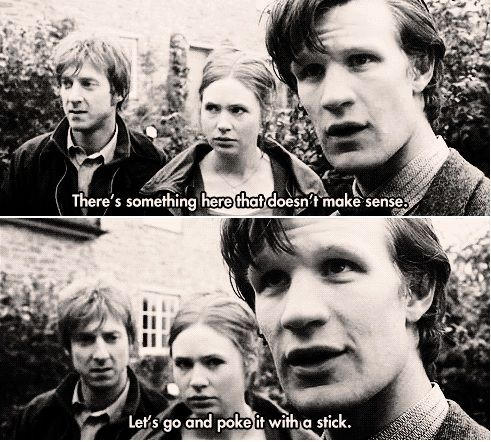 Doctor who in two sentences