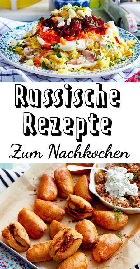 Russische Rezepte - von Blini bis Piroggen | LECKER