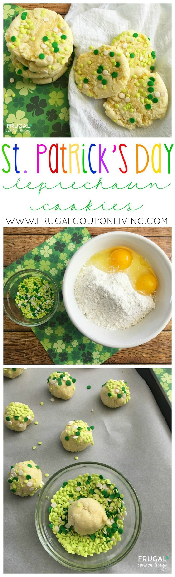 Frugal Coupon Living's Leprechaun Saint Patrick's Day Cookies. This and more St. Patty's Day Recipes.