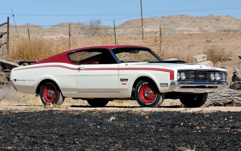 Ten Obscure Old Muscle Cars - 5. Mercury Cyclone Spoiler II Long ...