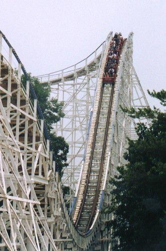 Screamin Eagle Six Flags St Louis Eureka Missouri Usa Roller Coaster Amusement Park Rides Six Flags