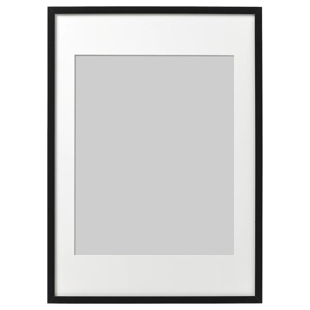 Ribba Frame Black 50x70 Cm In 2020 Ribba Frame Ikea Ribba Frames Frame