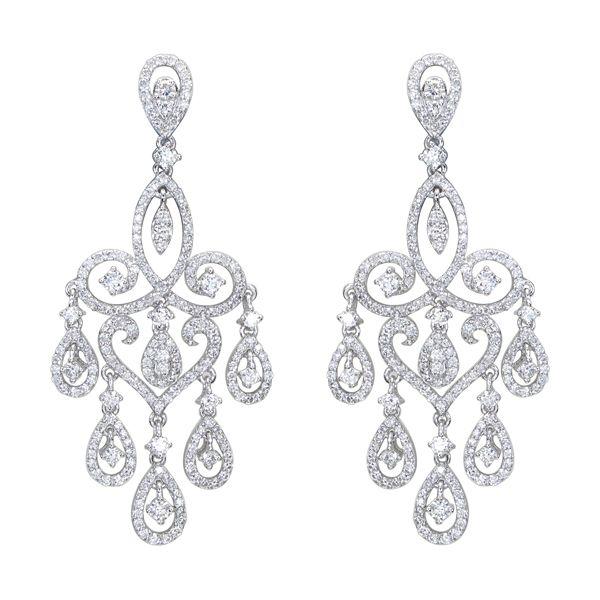 Diamond Chandelier Earrings Google Search Earings