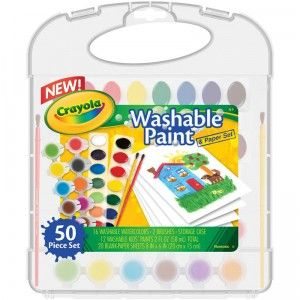 Washable Paint Paper Set From Crayola Top Crayola Toys