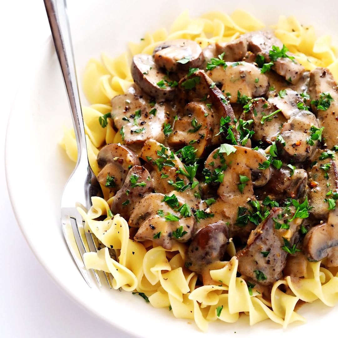 Beef And Mushroom Stroganoff Recipe