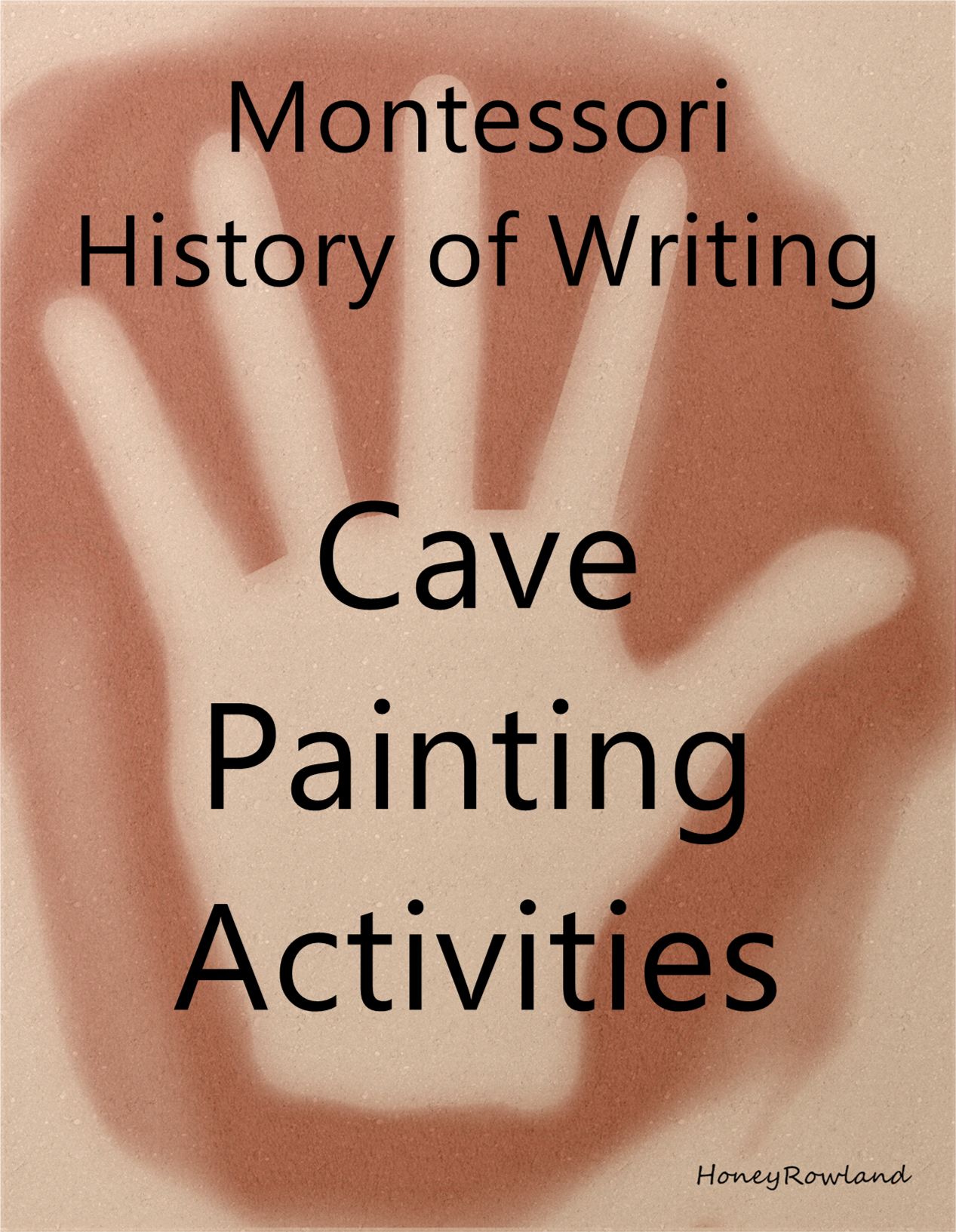 Cave Painting Activities For Use With The Montessori