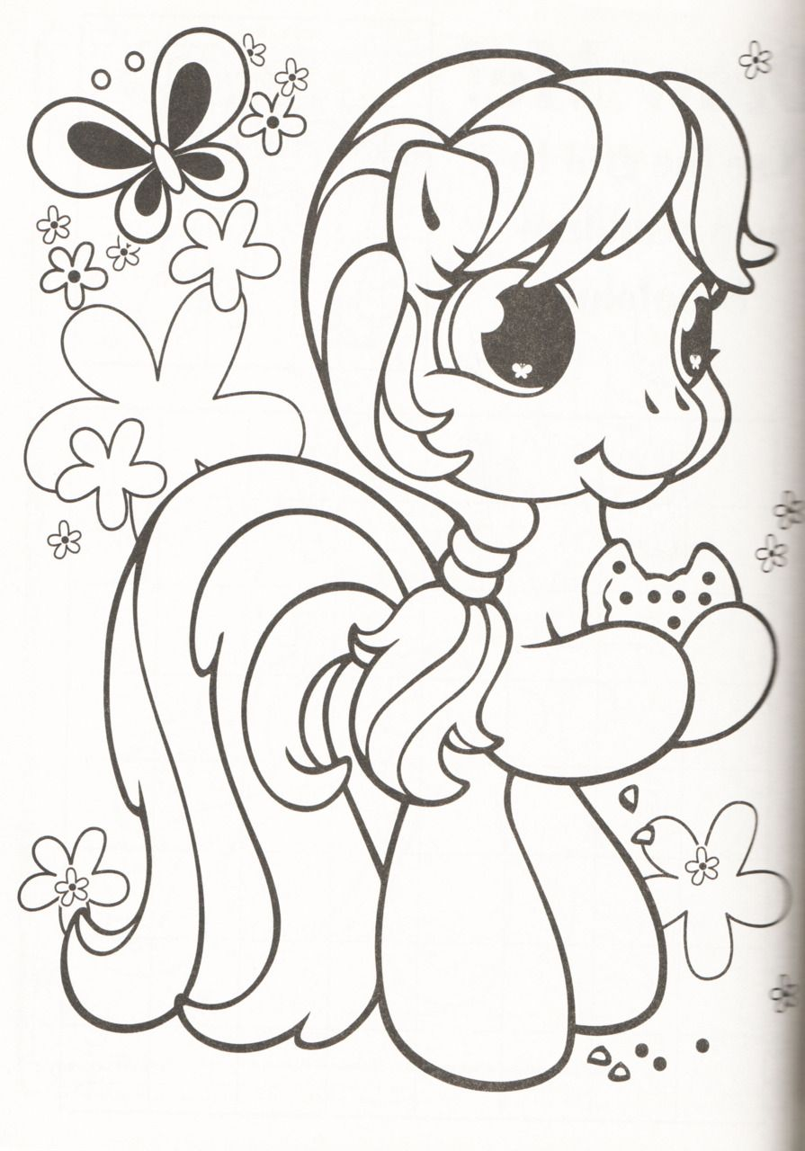 Color Me My Little Pony Coloring Coloring Pages Horse Coloring Pages [ 1280 x 895 Pixel ]
