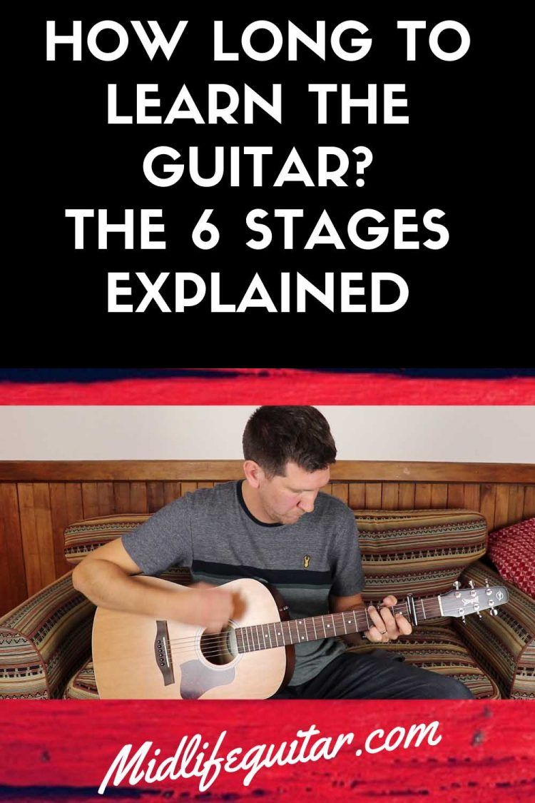 How Long It Takes To Learn Guitar [The 6 Stages] Learn