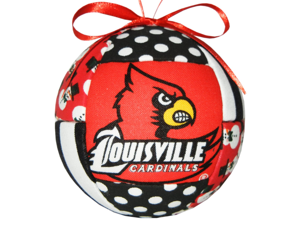 Louisville Kentucky Cardinals Christmas Ornament Tree Etsy With