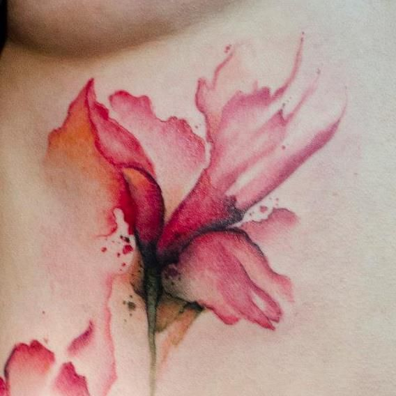 91ed45dba Best Watercolor tattoo - This is the most beautiful watercolor tattoo I  have ever seen.
