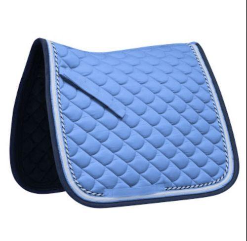 Waldhausen Dressage Saddle Blanket Full Size Sky Blue Night Blue Saddle Pads Horse Fashion Dressage Saddle Pad