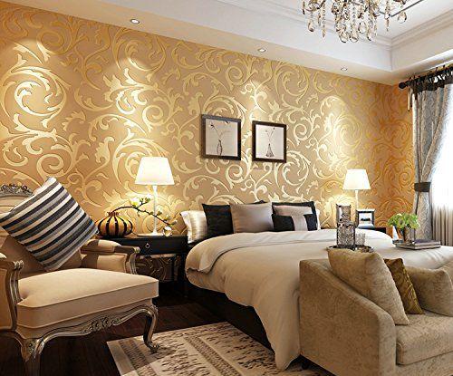 moderne umweltfreundliche wandtapetebild mustertapete fuer wohnzimmerschlafzimmertvhintergrund 9 amazonde baumarkt - Muster Tapete Wohnzimmer