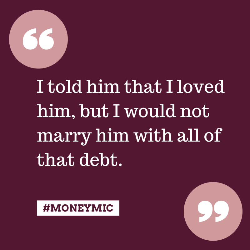 I Refused to Get Married—Until He Paid Off His Debt #moneymic