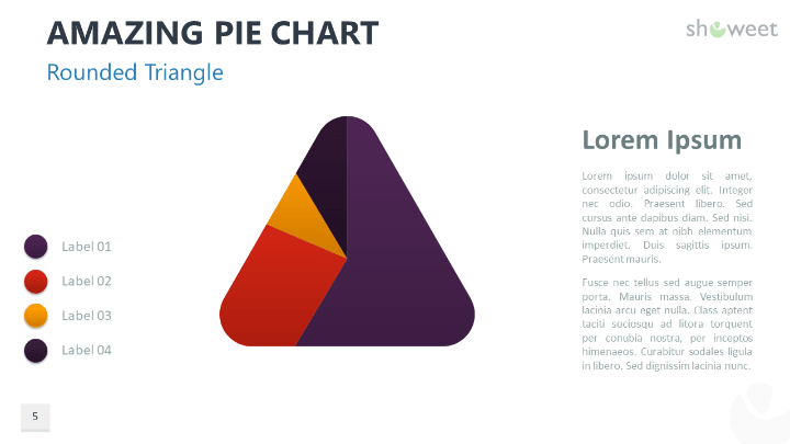 Amazing Pie Charts 2 For Powerpoint Powerpoint Pie Chart Chart