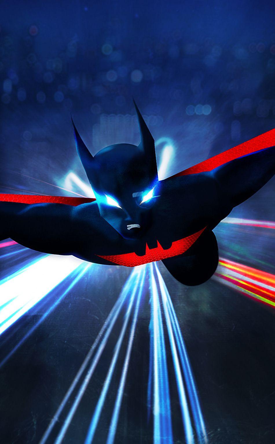 Batman Beyond Animated Show Art 950x1534 Wallpaper Batman Beyond Superhero Wallpapers Superhero Wallpaper