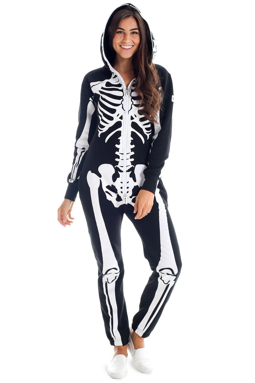 Skeleton Outfit Halloween.Women S Skeleton Costume Costume Ideas In 2019 Skeleton