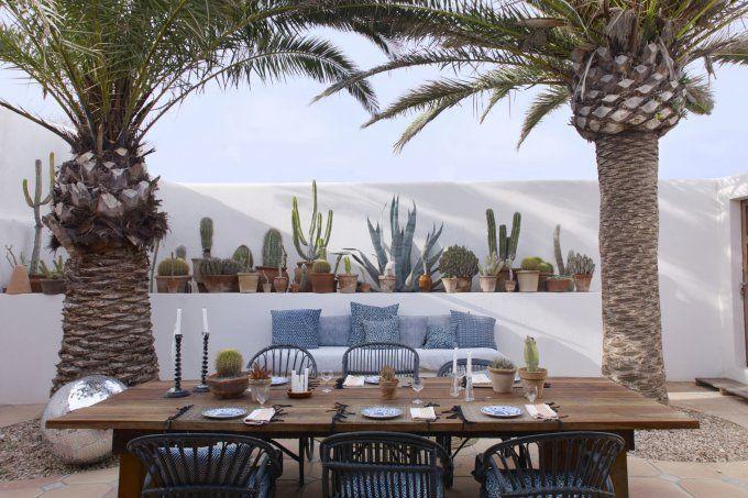 La maison très chill de Jade Jagger à Formentera