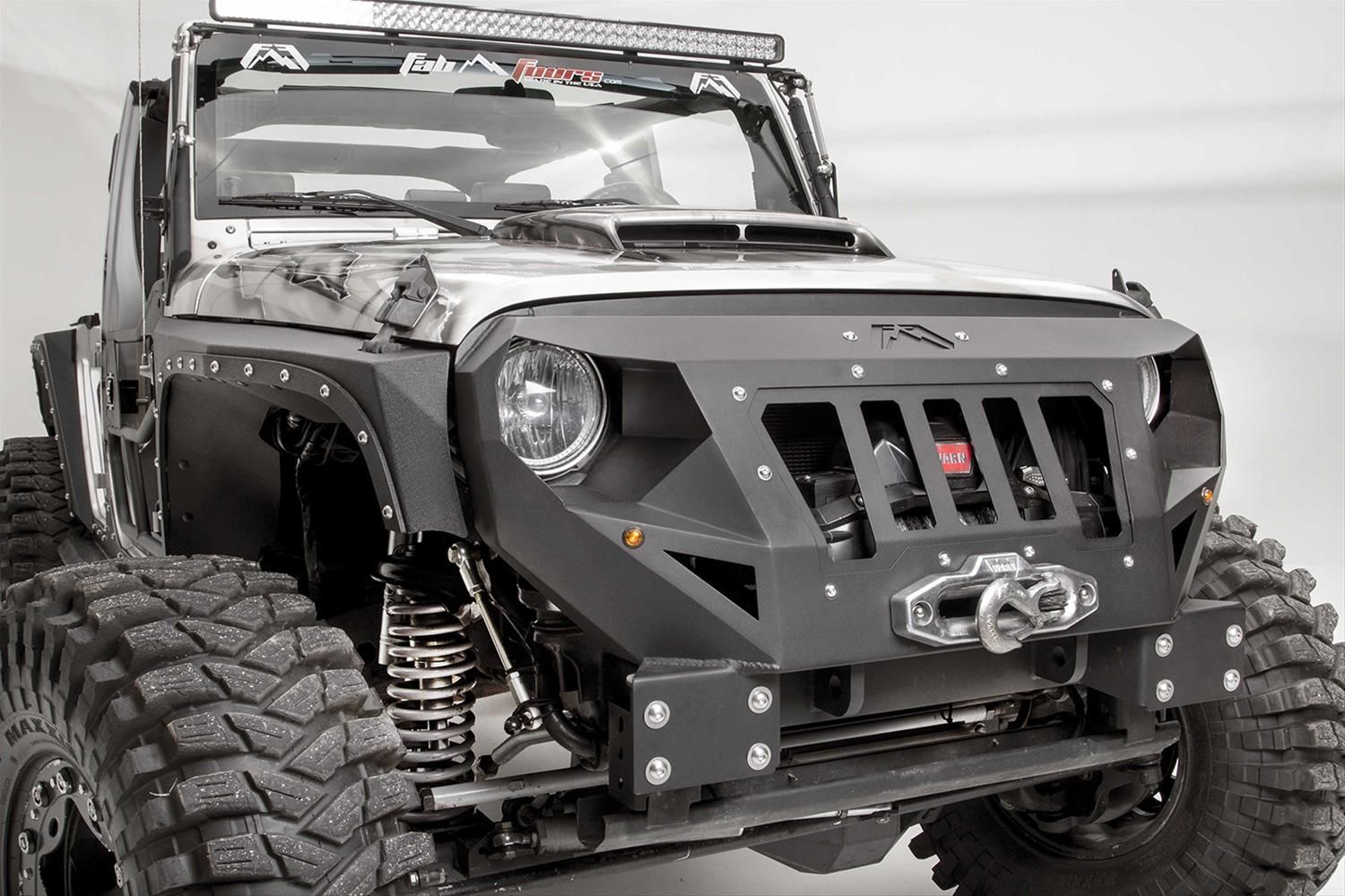 Anger Management Exploring Options For Adding An Angry Grille To Your Jeep Jeep Bumpers Winch Bumpers Jeep Jk