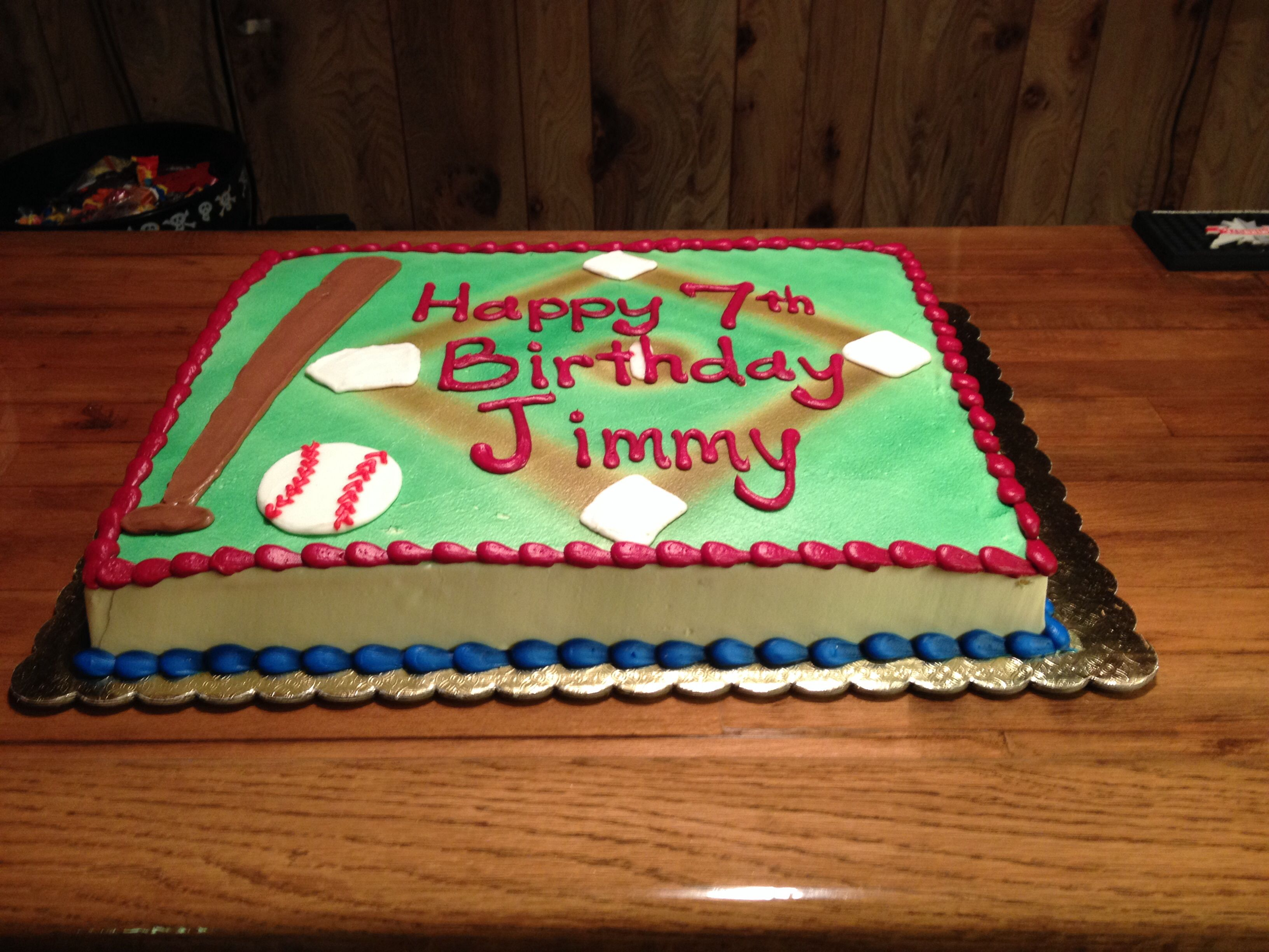 Baseball field cake cake Pinterest Baseball field cake and Cake