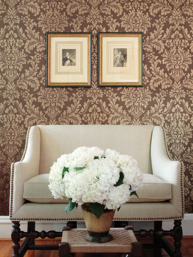 Damask Living Room Decor: Steal This Look: Budget-Savvy Living Room Fixes
