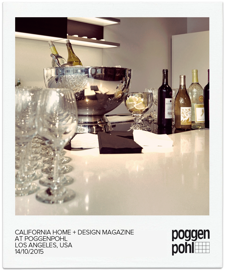 California Home + Design Magazine At Poggenpohl Los Angeles, USA