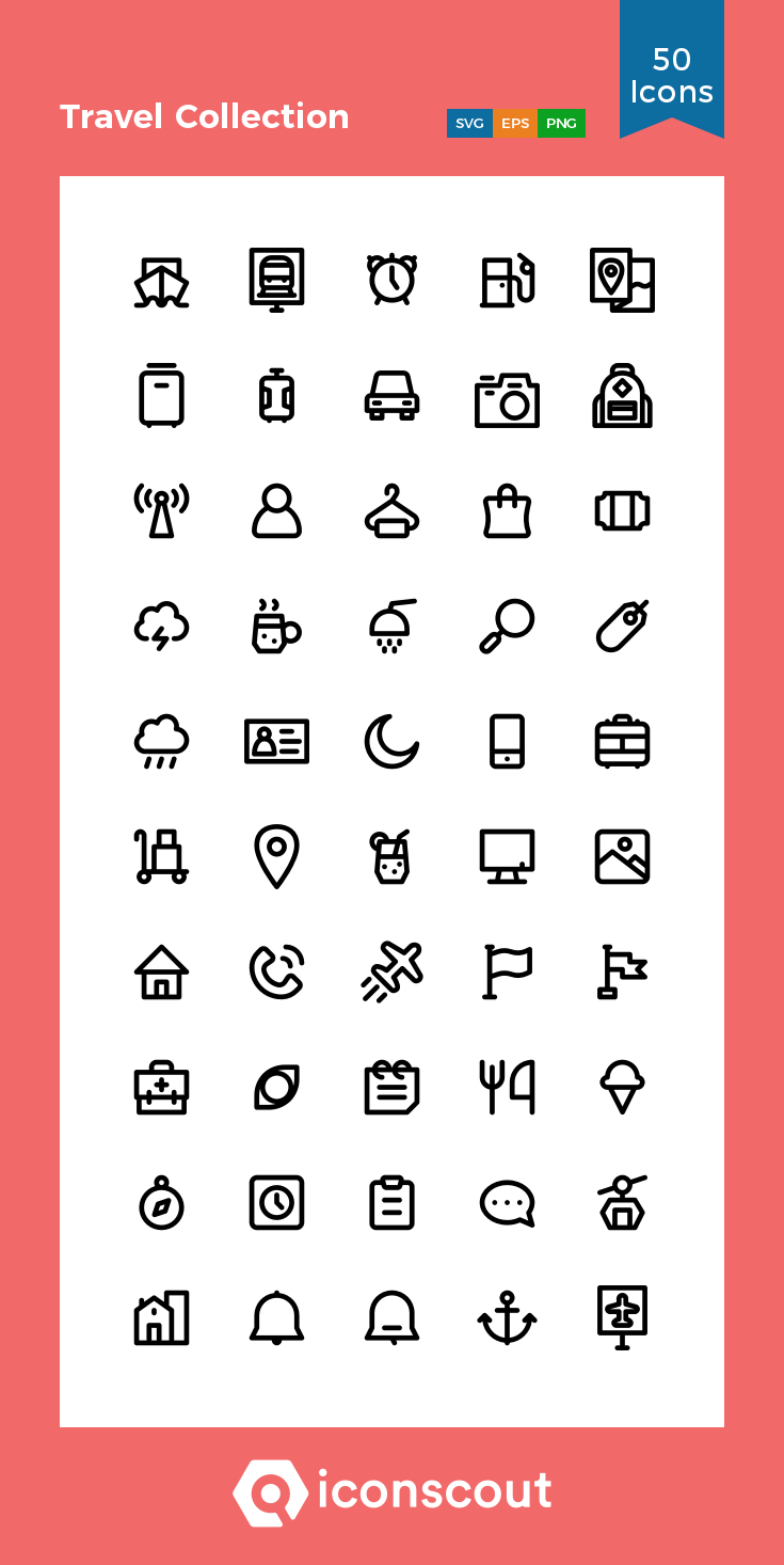 Download Travel Collection Icon Pack Available In Svg Png Eps Ai Icon Fonts Travel Collection Compass Icon Location Icon
