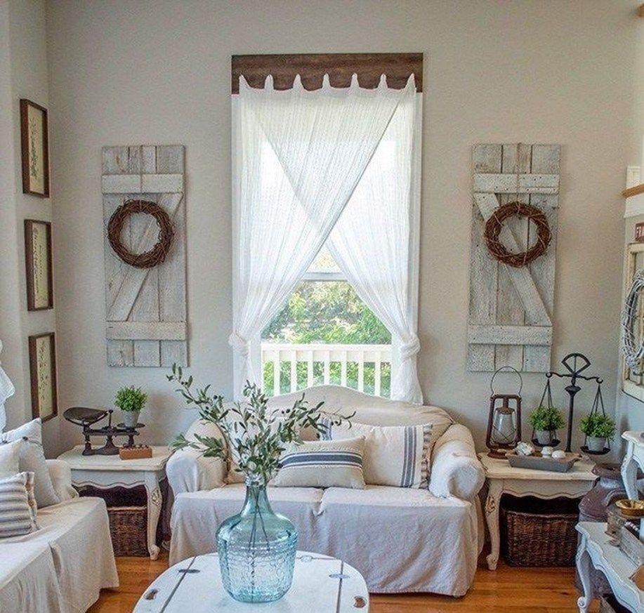 Cozy farmhouse window style design ideas 20 window
