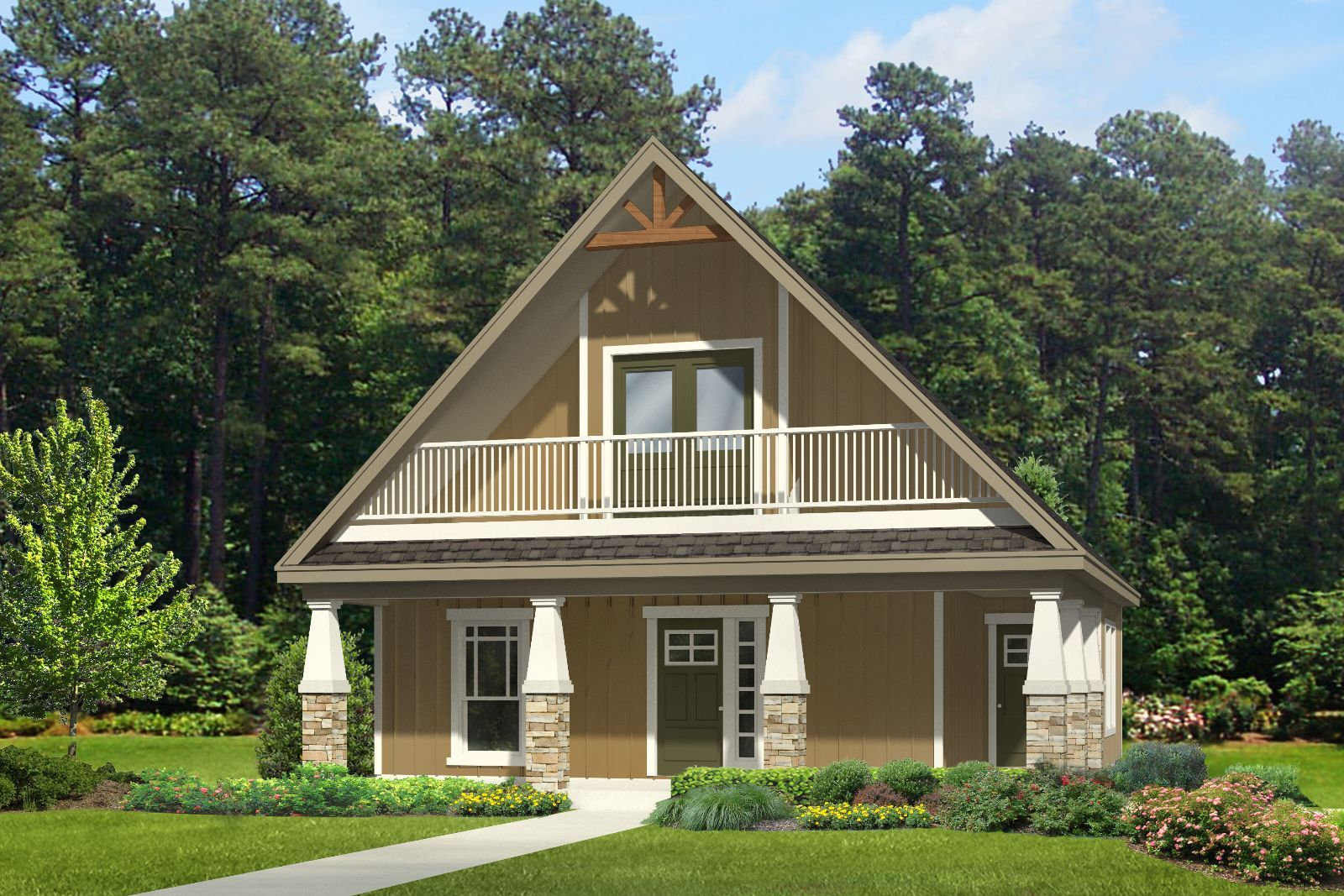 Craftsman house plans with porches on pinterest for House plans with porches