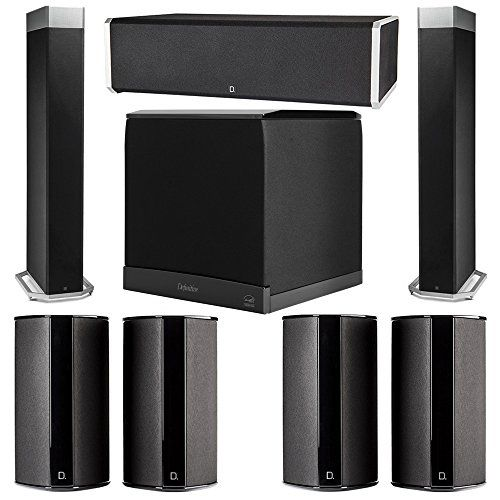 Definitive Technology 71 System with 2 BP9080X Tower Speakers 1