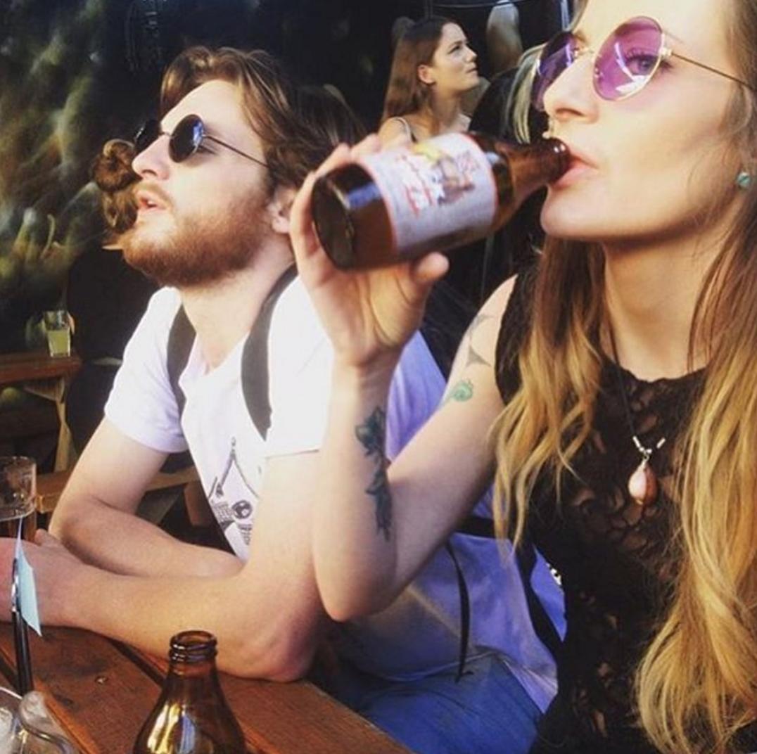 Afternoon Delight via @mrscruffsbar // #lickpier #lickpiergingerbeer #alcoholicgingerbeer #east9thbrewing