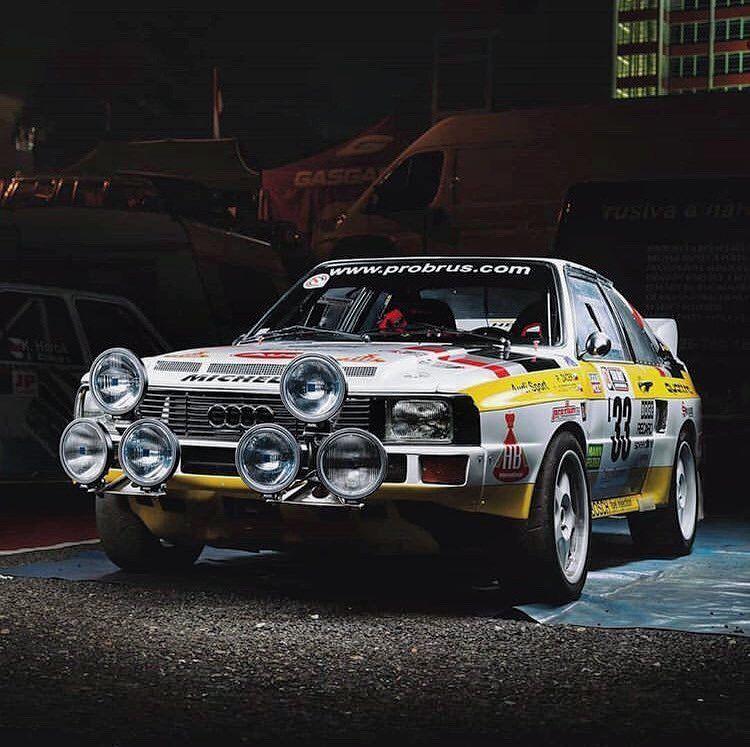 Look at this! Insane Group B sportquattro!🏁 ? Audi